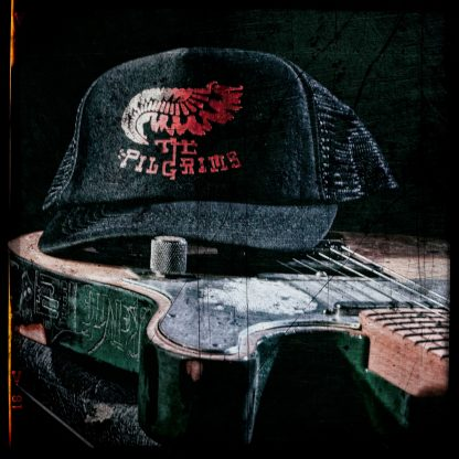 trucker cap zwart met grijs of rood logo